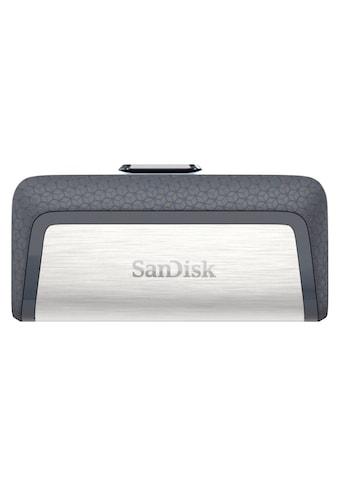 Sandisk Ultra Dual USB Drive, 256GB, USB - 3.1 - C, 150MB/s »USB - Speicherstick« kaufen