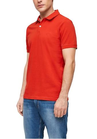 s.Oliver Poloshirt, mit Logostickerei kaufen