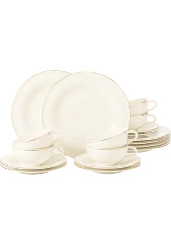 Seltmann Weiden Teeservice »Teeservice Medina Goldlinie«, (Set, 18 tlg., 6 x... kaufen