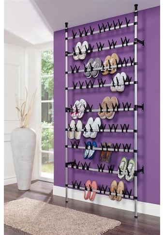 Ruco Schuhregal, Aluminium, höhenverstellbar, für bis zu 90 Paar Schuhe kaufen
