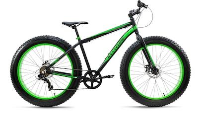 KS Cycling Fatbike »Fat - XTR«, 7 Gang, Shimano, Tourney Schaltwerk, Kettenschaltung kaufen