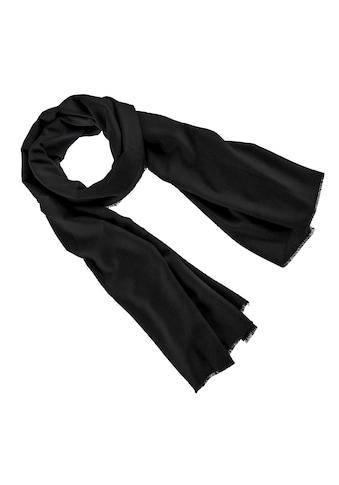 PURSET Schal, Damen, mit feiner Fransenkante kaufen
