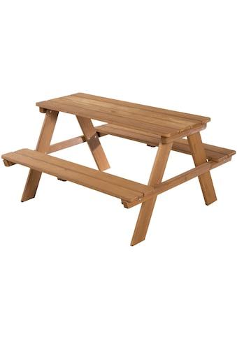 roba® Kindersitzgruppe »PICKNICK for 4 - Outdoor +«, mit Rückenlehne kaufen
