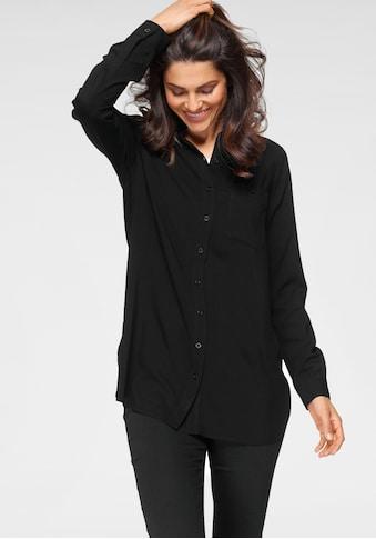 OTTO products Hemdbluse, nachhaltig aus weicher LENZING™ ECOVERO™ Viskose kaufen