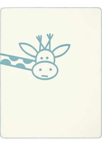 BIEDERLACK Babydecke »Cookie«, mit lustiger Giraffe kaufen