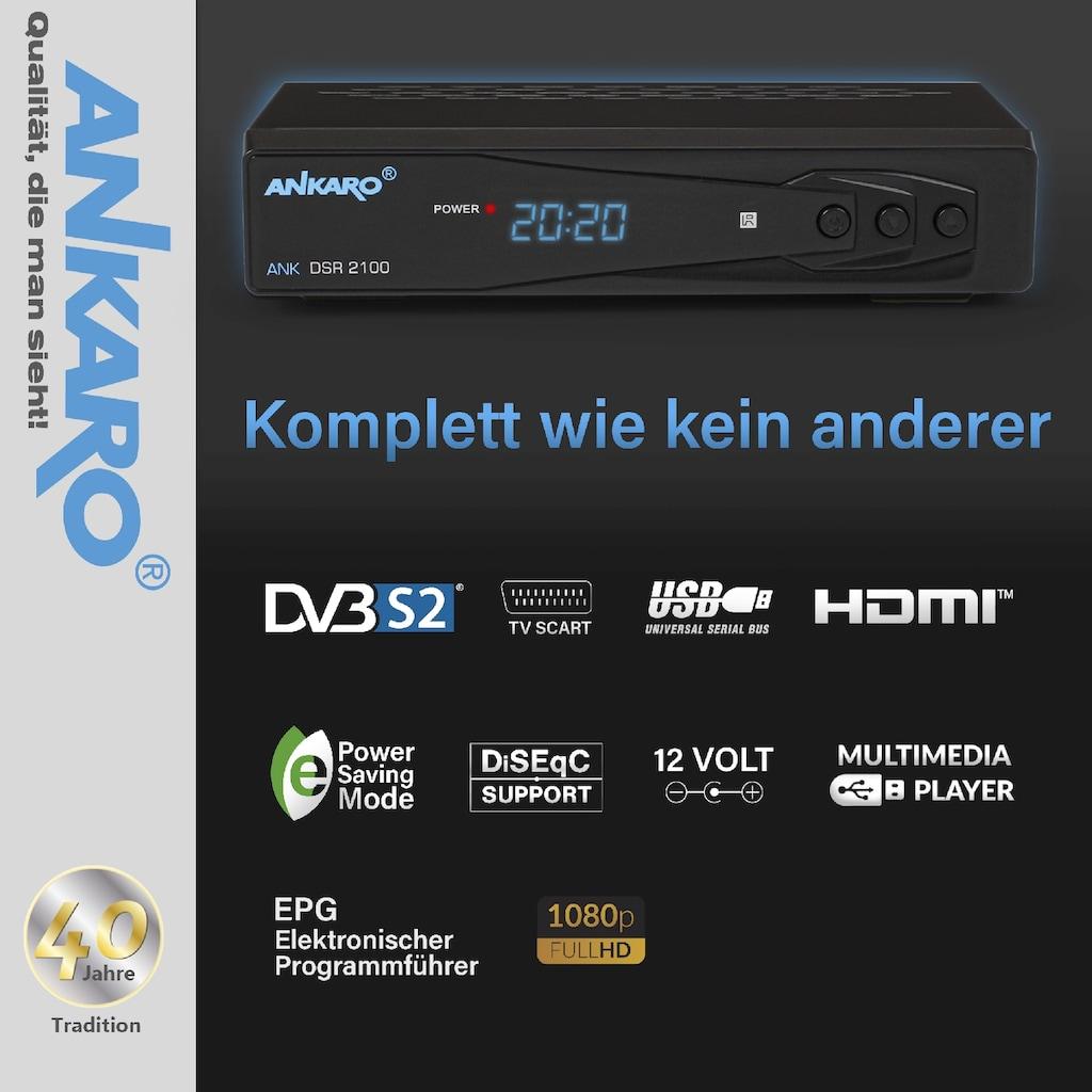 Ankaro SAT-Receiver »ANK DSR 2100 Full HD«