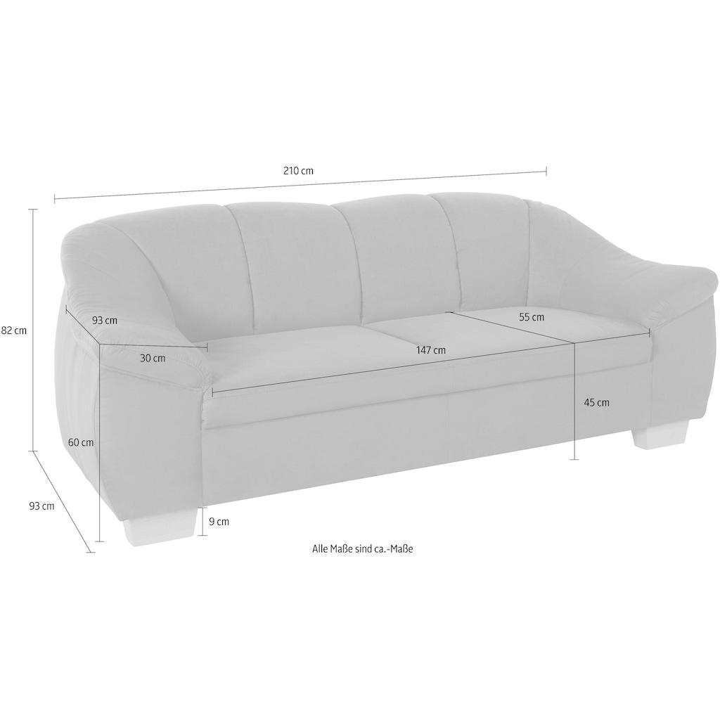 sit&more 3-Sitzer, mit Federkern
