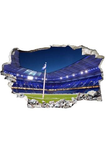Wall-Art Wandtattoo »3D Fußball HSV Arena 02« kaufen