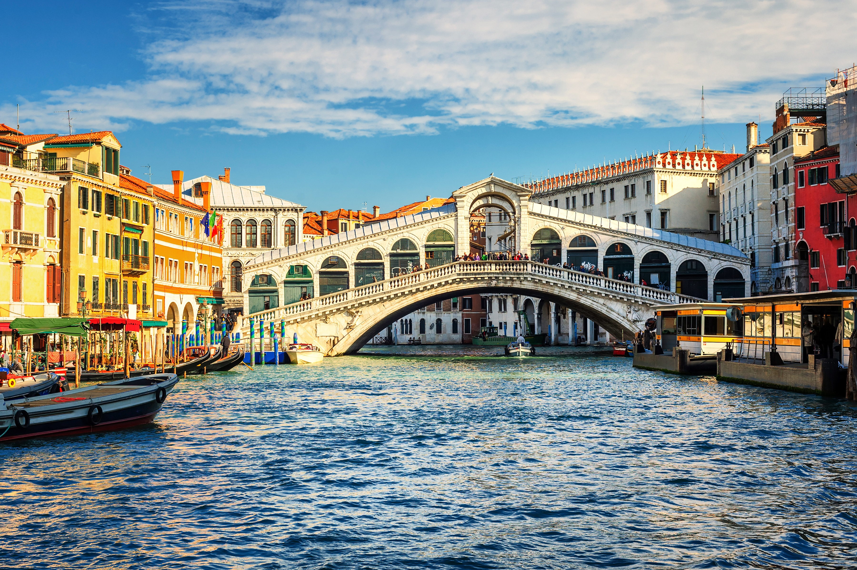Fototapete »Grand Canal and Rialto bridge« günstig online kaufen