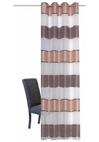 HOME WOHNIDEEN Vorhang »WALTERS«, HxB: 245x140, Querstreifen kaufen