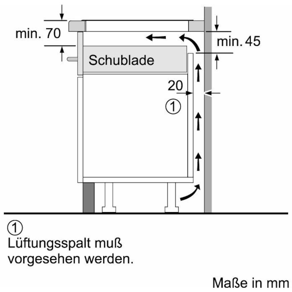 NEFF Flex-Induktions-Kochfeld von SCHOTT CERAN®, T58PT20X0, mit TwistPad® Bedienung