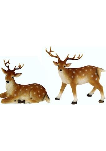 I.GE.A. Tierfigur »Reh« (Set, 2 Stück) kaufen