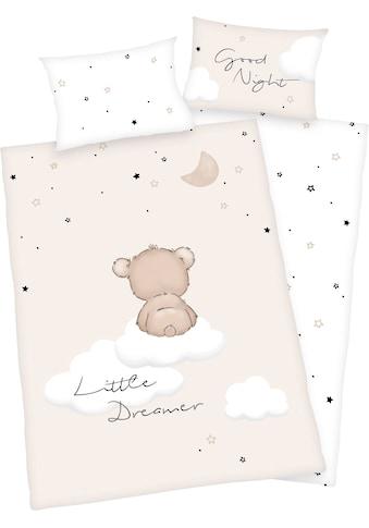 Baby Best Babybettwäsche »Little Dreamer«, mit niedlichem Motiv und liebevollem... kaufen