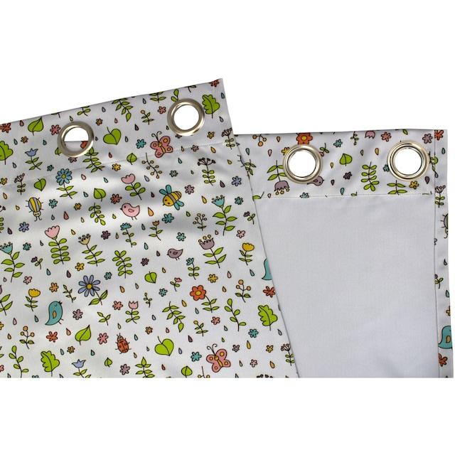 Vorhang, »Miniwelt«, VHG, Ösen 1 Stück
