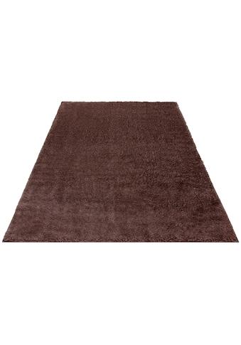 Hochflor - Teppich, »Mikro Soft Ideal«, my home, rechteckig, Höhe 30 mm, maschinell gewebt kaufen