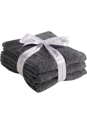 Vossen Gästehandtücher »Smart Towel«, (3 St.), antibakteriell & schnelltrocknend kaufen