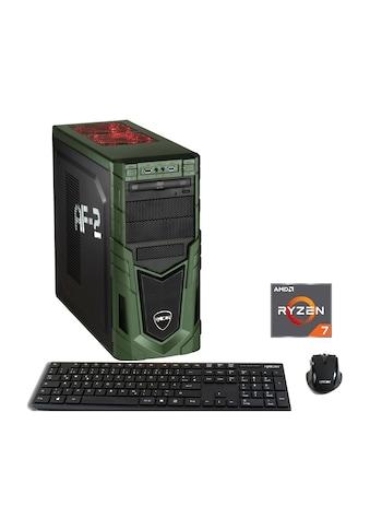 Hyrican »MilitaryGaming 6196« Gaming - PC (AMD, Ryzen 7, RTX 2060) kaufen