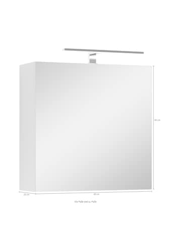byLIVING Spiegelschrank »Spree«, Breite 60 cm, 1-türig, mit LED Beleuchtung und... kaufen