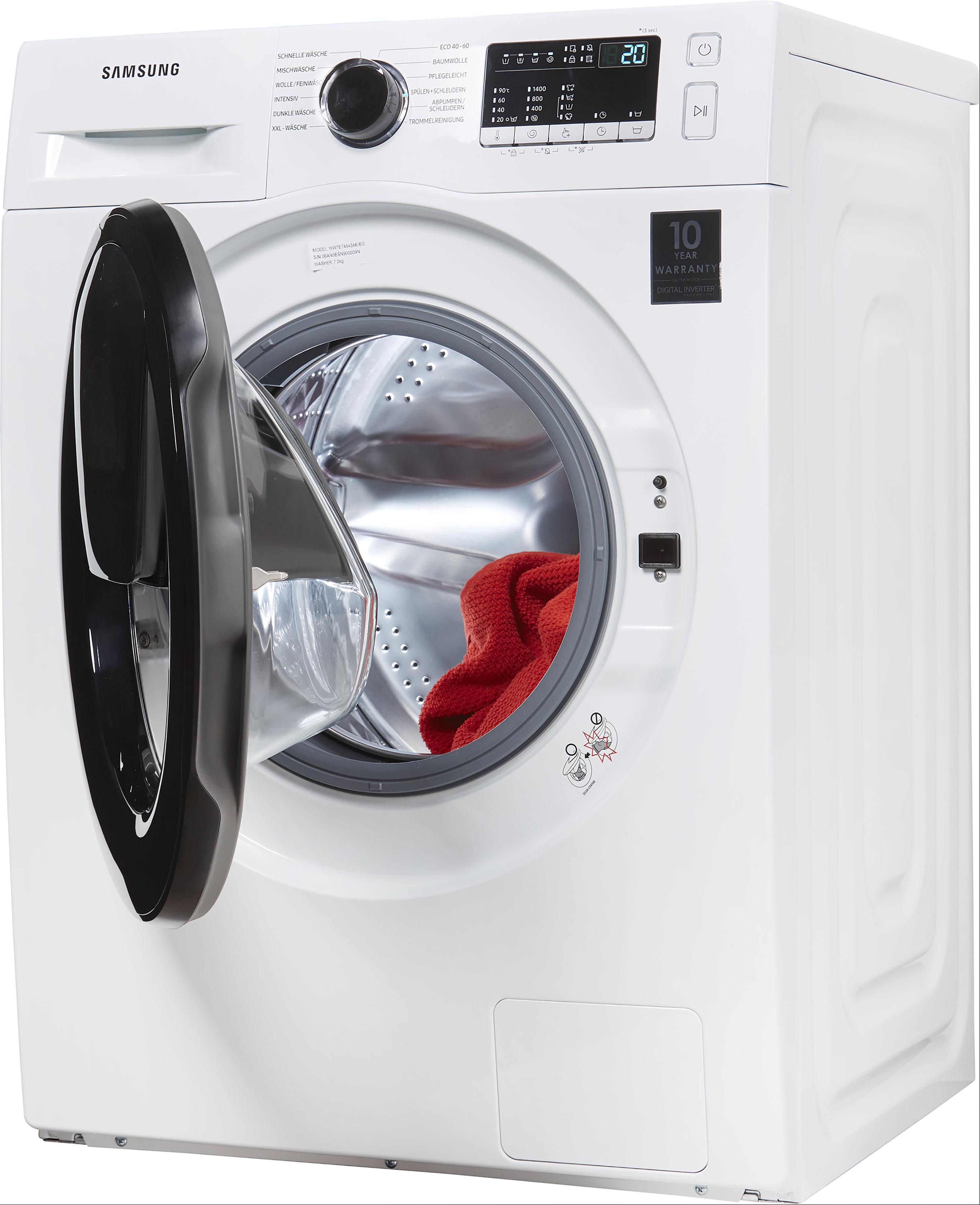 Samsung Waschmaschine WW7EK44205W EG , WW4500T, WW7ET4543AE EG, AddWash