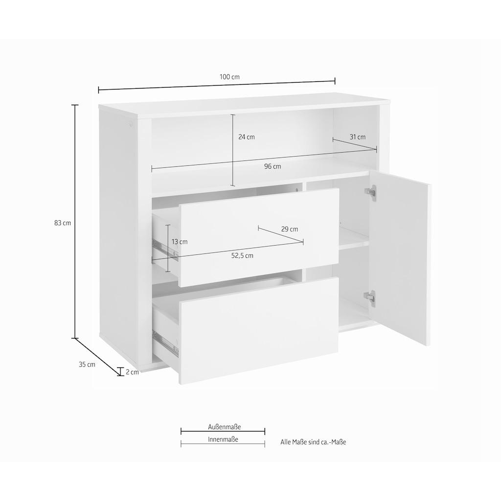 Guido Maria Kretschmer Home&Living Badkommode »Como«, grifflose Optik