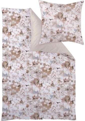 Curt Bauer Bettwäsche »Weekend«, mit floralem Muster kaufen