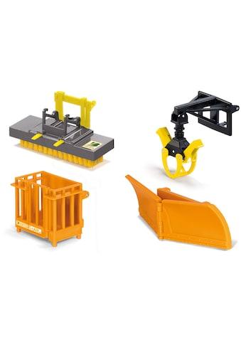 """Siku Spielzeug - Traktor """"SIKU Farmer, Frontlader Anbaugeräte"""" (Set, 4 - tlg.) kaufen"""