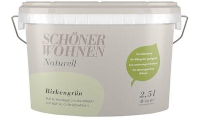 SCHÖNER WOHNEN-Kollektion Wand- und Deckenfarbe »Naturell Birkengrün«, 2,5 l kaufen