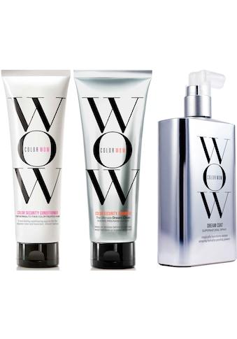 COLOR WOW Haarpflege-Set »Color Security Shampoo + Color Security Conditioner N-T + Dream Coat Supernatural Spray«, (3 tlg.) kaufen