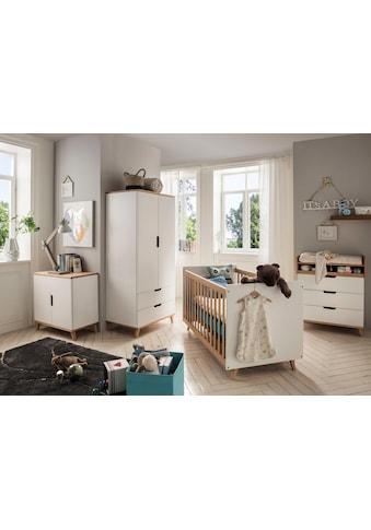 Fantasykids Babyzimmer - Komplettset (4 - tlg Bett + Wickelkommode + 2 - trg. Schrank + Kommode) kaufen