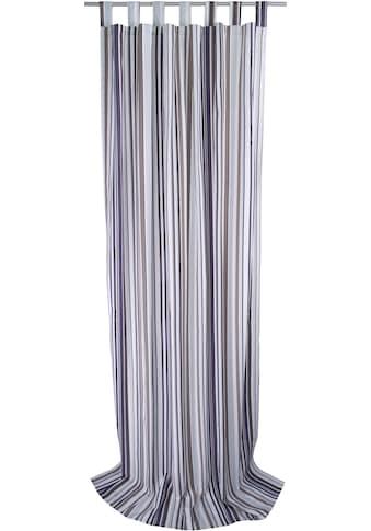 Vorhang, »Fine Lines«, TOM TAILOR, Schlaufen 1 Stück kaufen