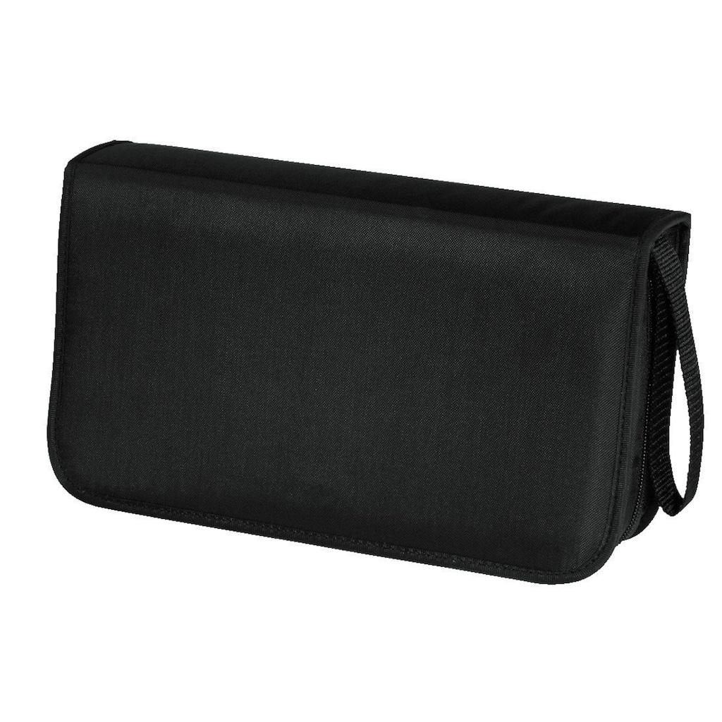 Hama Aufbewahrungstasche »Disc-Tasche«, 80, Schwarz