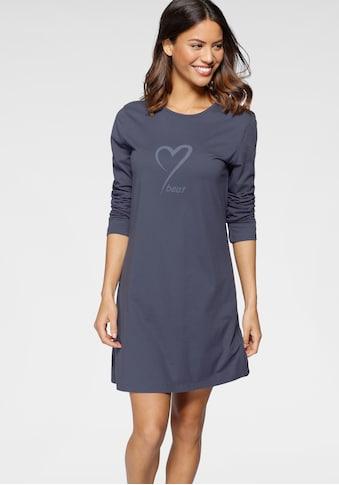 Schiesser Nachthemd, mit Herzmotiv kaufen