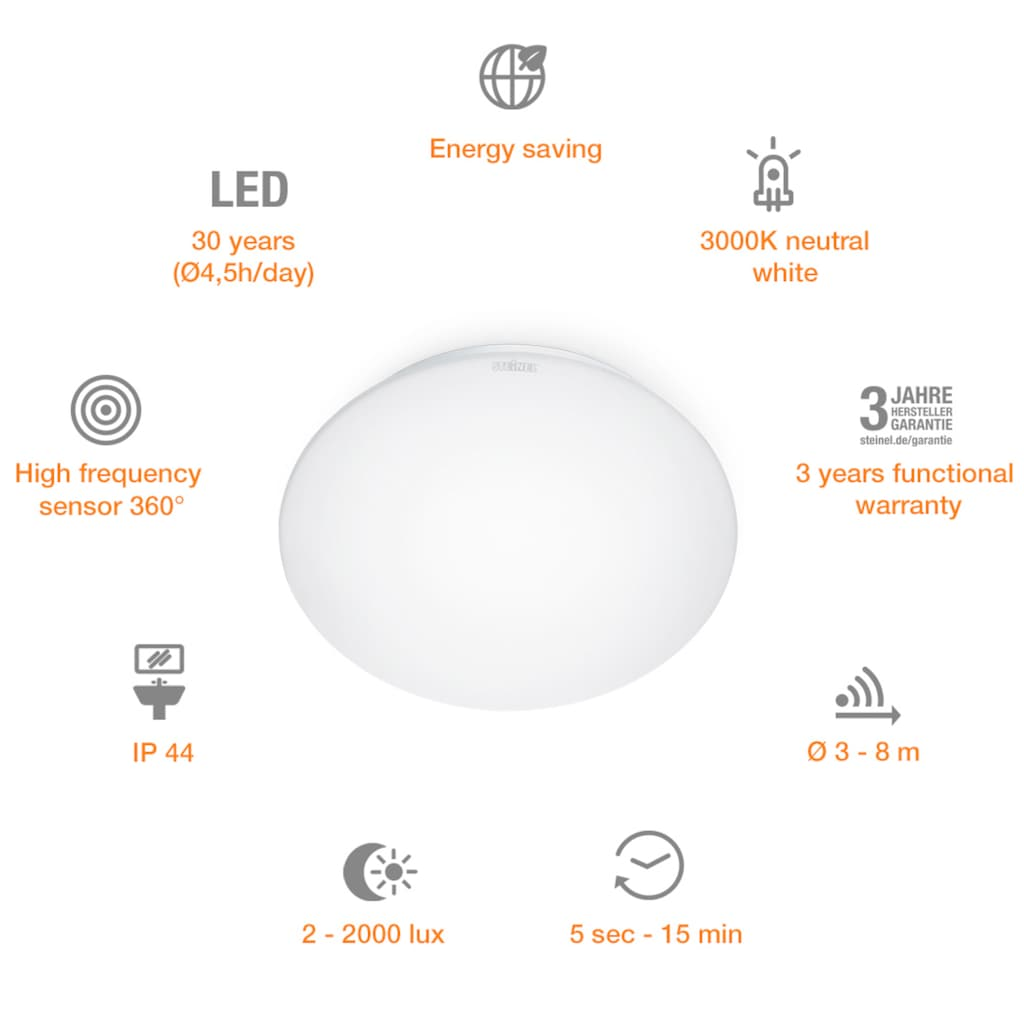 STEINEL Innensensorlampe »RS 16 LED«