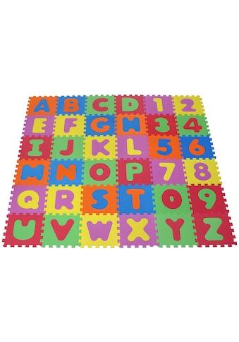 """Knorrtoys® Puzzle """"Alphabet und Zahlen"""" kaufen"""