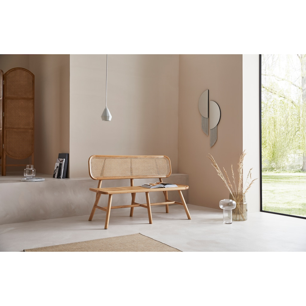 LeGer Home by Lena Gercke Sitzbank »Madita«, Mit Wiener Geflecht Einsätzen