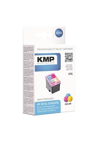 KMP Tintenpatrone ersetzt HP Nr. 301XL cyan, magenta, gelb »CH564EE« kaufen