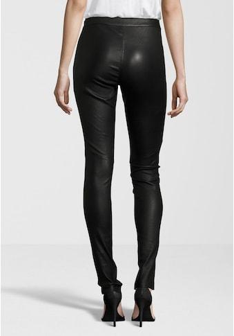 Gipsy Lederhose »Alara«, hochwertige Leder-Leggings mit seitlichem Reißverschluss am Bund kaufen