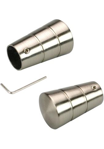 Gardinenstangen - Endstück »Concav«, Liedeco, passend für Gardinen (Set) kaufen