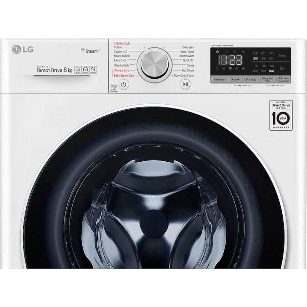 LG Waschmaschine »F4WV408S0«, F4WV408S0