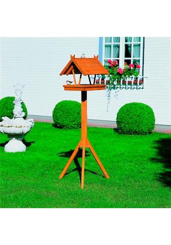 promadino Vogelhaus »Rhön«, BxTxH: 36x41,5x141 cm, mit Standbein kaufen
