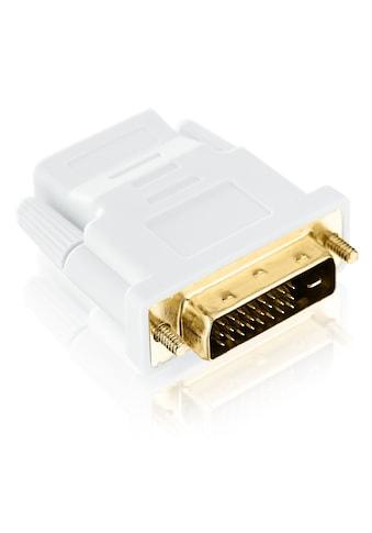 CSL Full HD HDMI auf DVI Video Adapter »HDMI - Buchse auf DVI - D Stecker (24+1 male)« kaufen