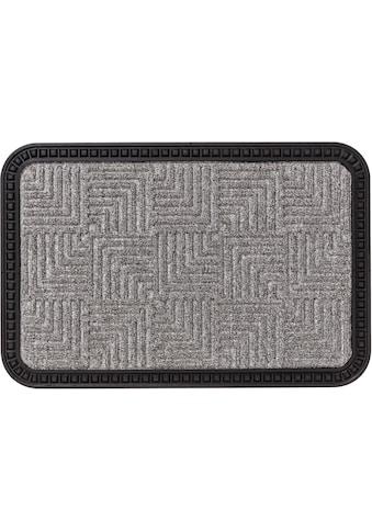 ASTRA Fußmatte »Border Star 2«, rechteckig, 8 mm Höhe, Schmutzfangmatte, In -und... kaufen
