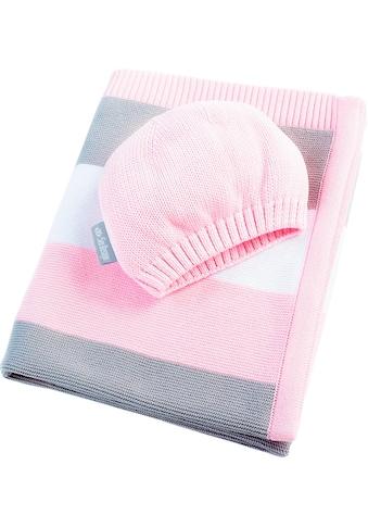 SEI Design Babydecke »Bande«, mit Streifen kaufen