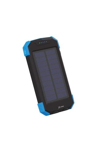 XLAYER Zusatzakku »Powerbank PLUS Solar Wireless Black/Blue 10000mAh« kaufen