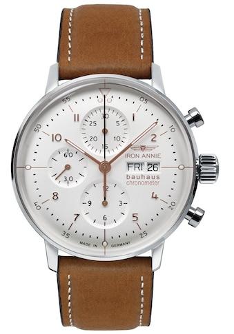 IRON ANNIE Automatikuhr »Bauhaus, Chronometer Sternwarte Glashütte, 5020 - 4« kaufen
