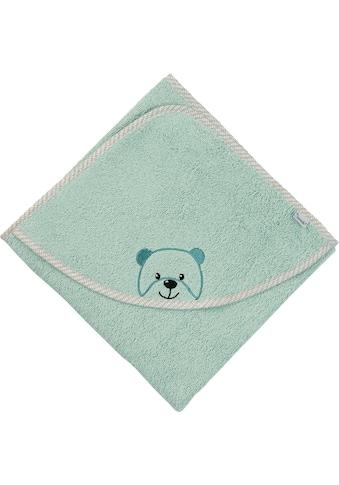 Sterntaler® Badetuch »Baylee«, (1 St.), mit niedlichem Teddybär kaufen