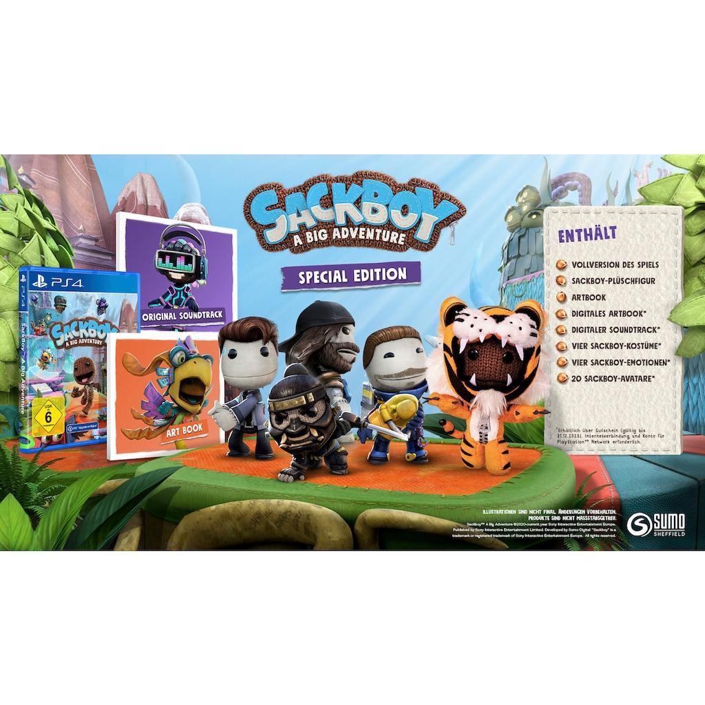 PlayStation 4 Spiel »Sackboy: A Big Adventure Special Edition«, PlayStation 4