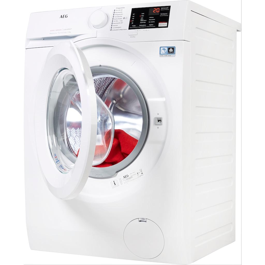 AEG Waschmaschine, L6FBA5490