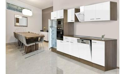 Küchenzeile »York«, mit E - Geräten, Breite 340 cm kaufen