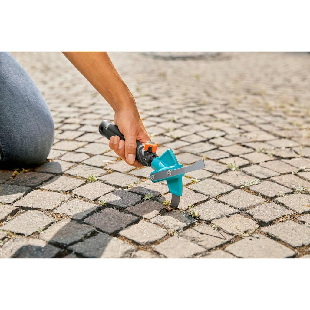 GARDENA Fugenkratzer »combisystem-2in1, 3607-30«, Spezielle Form des Bügels unterstützt das Entfernen von Unkraut in breiten Fugen, der Bügel kann ausgetauscht werden